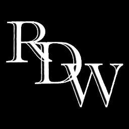 RF de wit auto's logo
